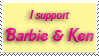 Barbie and Ken Stamp by Nessarie