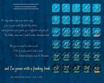 NaNoWriMo Calendar - ALL CAPS