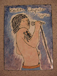 Keith Caputo Lyrics Book cover