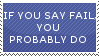 Fail Stamp by WiltedAyame