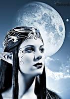 Moon Elv by kschenk