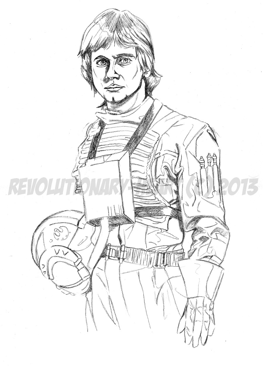 Luke skywalker coloring pages coloring pages for Luke skywalker coloring page