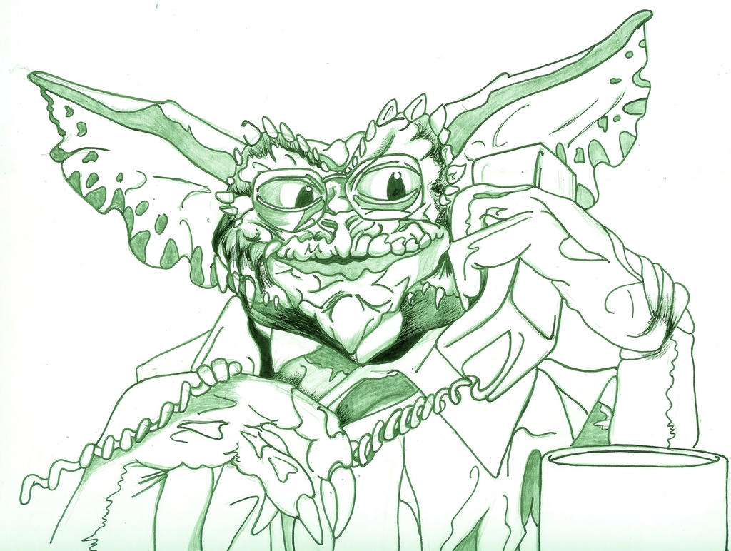 Gizmo gremlins coloring pages sketch coloring page - Evil Gremlins Tattoo Viewing Gallery