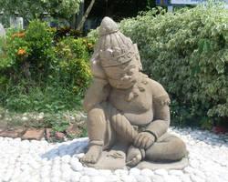 Thai gnome by joelshine-stock