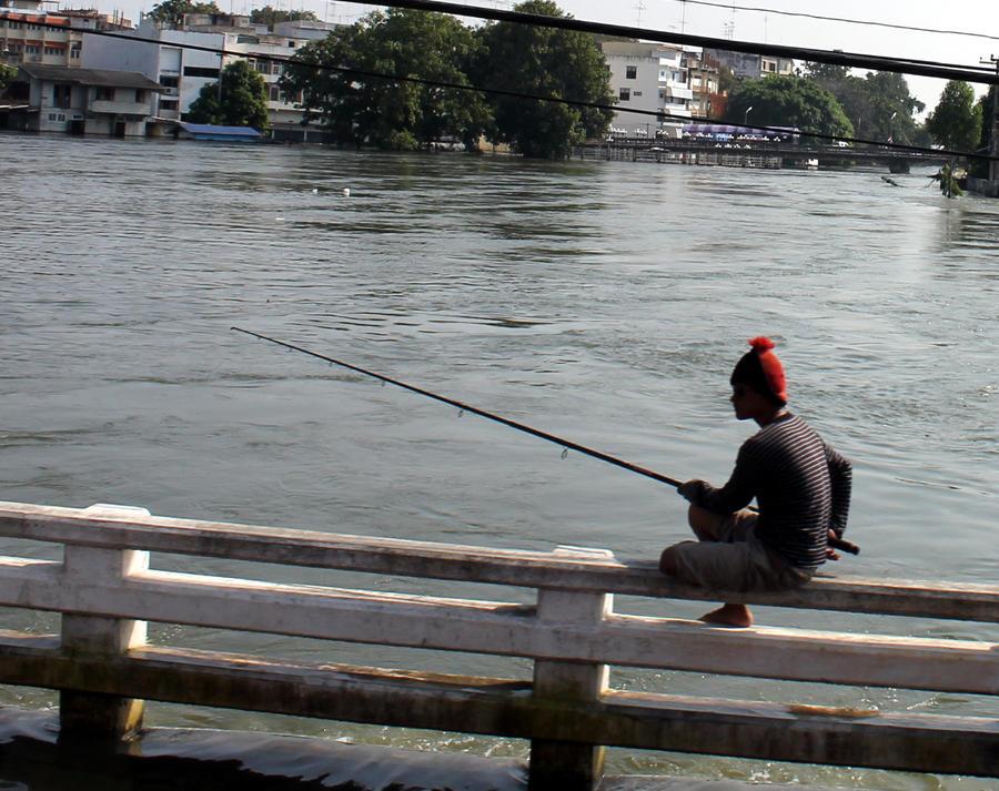 fisherman by joelshine-stock