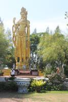 Guanyin statue by joelshine-stock
