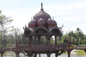 Wooden pavillion by joelshine-stock
