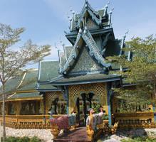 blue temple by joelshine-stock