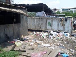 Urban debris by joelshine-stock