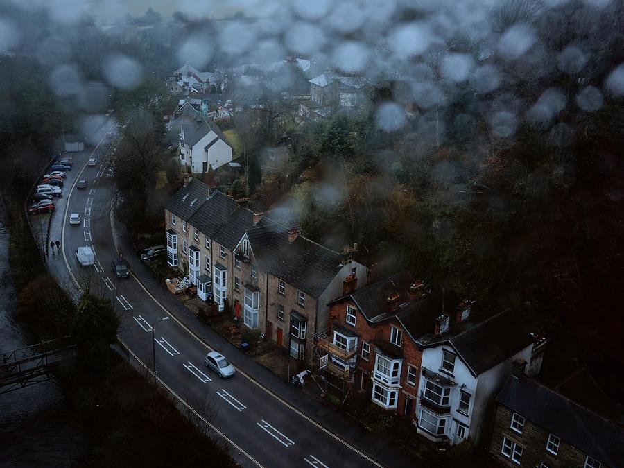 Rainy Town by WillTC
