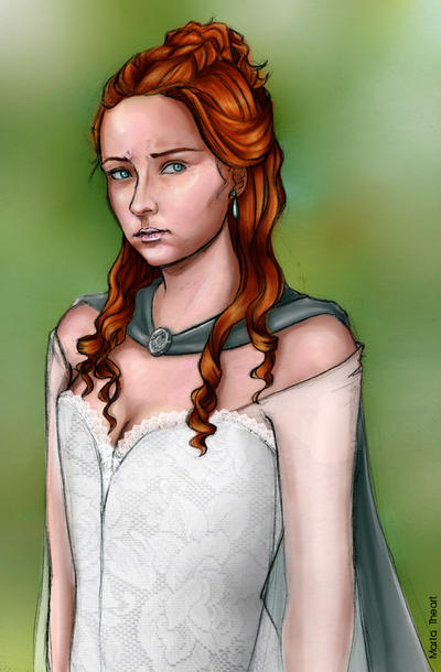 Sansa Stark by MartAiConan