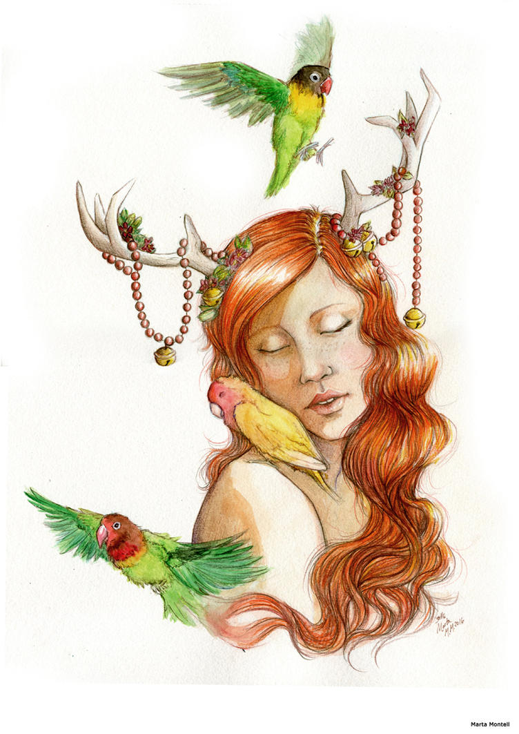 Ginger_lovebirds by MartAiConan