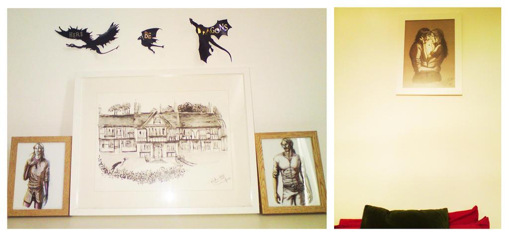 photo_ drawings_Jackie Morris and me by MartAiConan