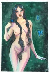 Felurian_2 Watercolor by MartAiConan