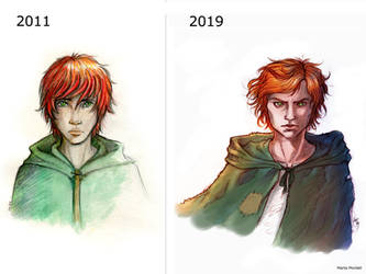 Before and after by MartAiConan