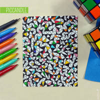 Easy Doodle Pattern Design by PicCandle