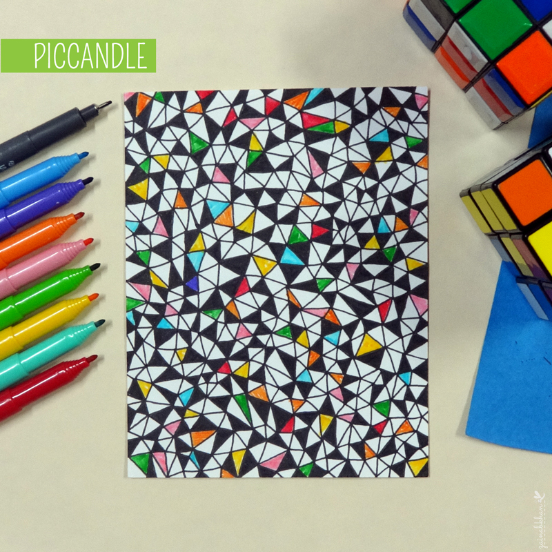 Easy Doodle Pattern Design by PicCandle on DeviantArt