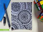 Doodle - Circular Pattern Design