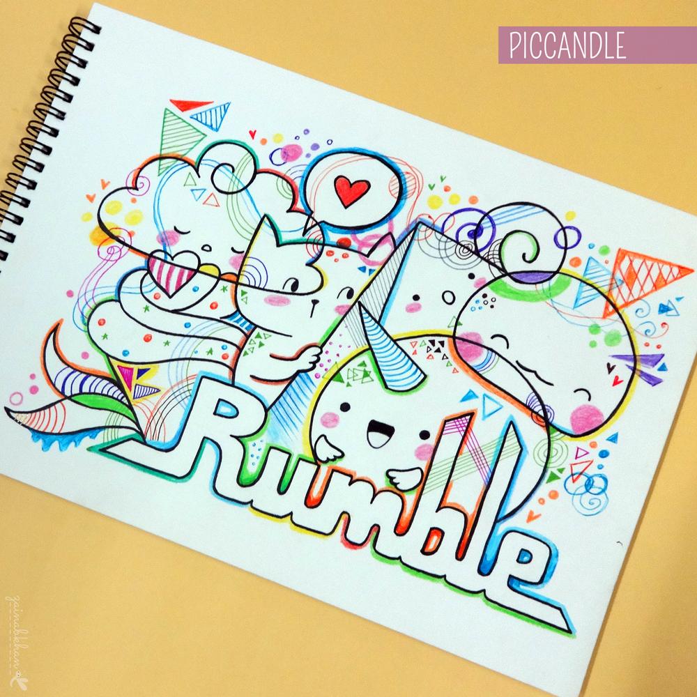 doodle   rumble by piccandle on deviantart