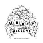Doodle - Happy Weekend