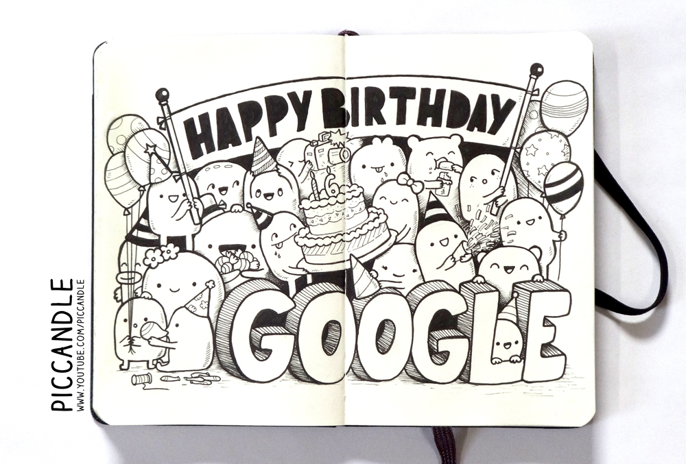 Happy Birthday Google ! :D By PicCandle On DeviantArt