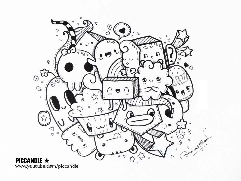 New Video A Quick Kawaii Doodle By PicCandle On DeviantArt
