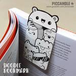 DIY ~ Mini Doodle Bookmark [Video]