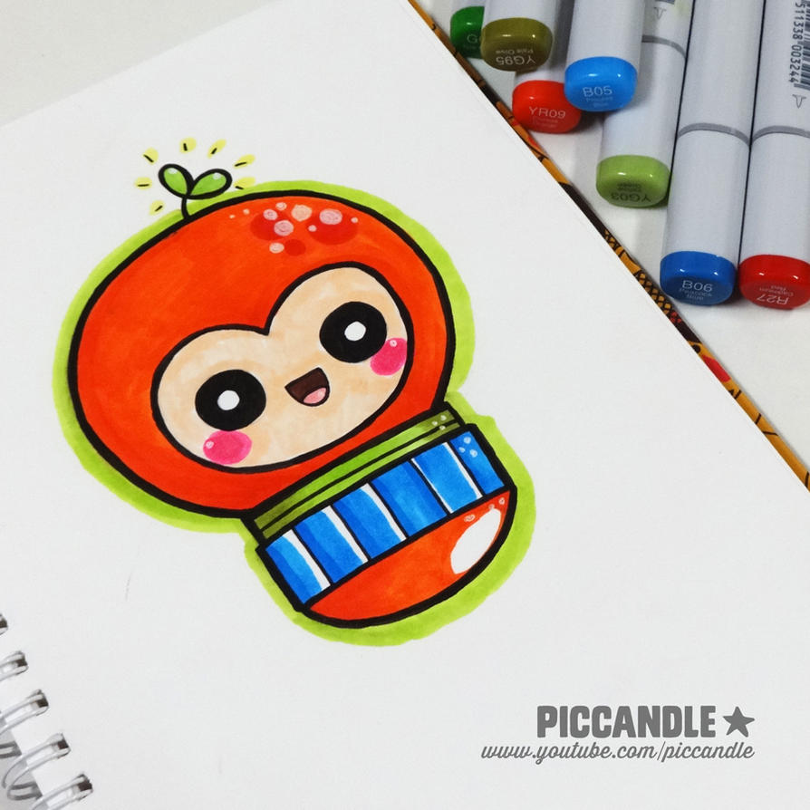 First Time Coloring with Copic Sketch Markers by PicCandle on ...
