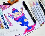 Finn Sundae Doodle [August #ScrawlrChallenge]
