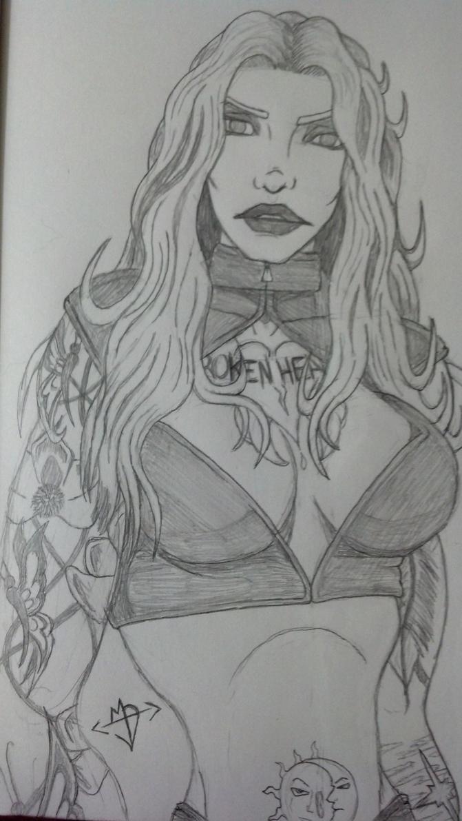 Daphne by Melanieshaman