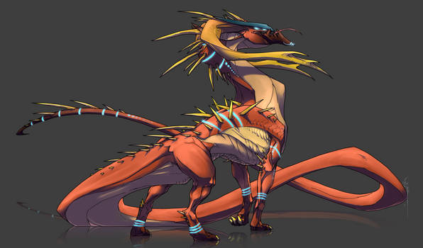 Ancient Alien Dragon