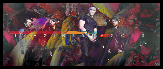 Imagine Dragons ft Nugg by purplegfx