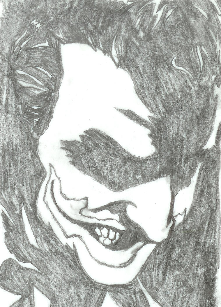 Joker Sketch by thelincdesign
