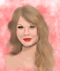 Taylor Swift Sketch by thelincdesign