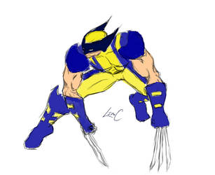 Wolverine Sketch by thelincdesign