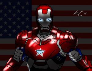 Iron Patriot Sketch
