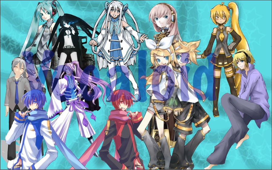 vocaloid characters wallpapers - photo #5