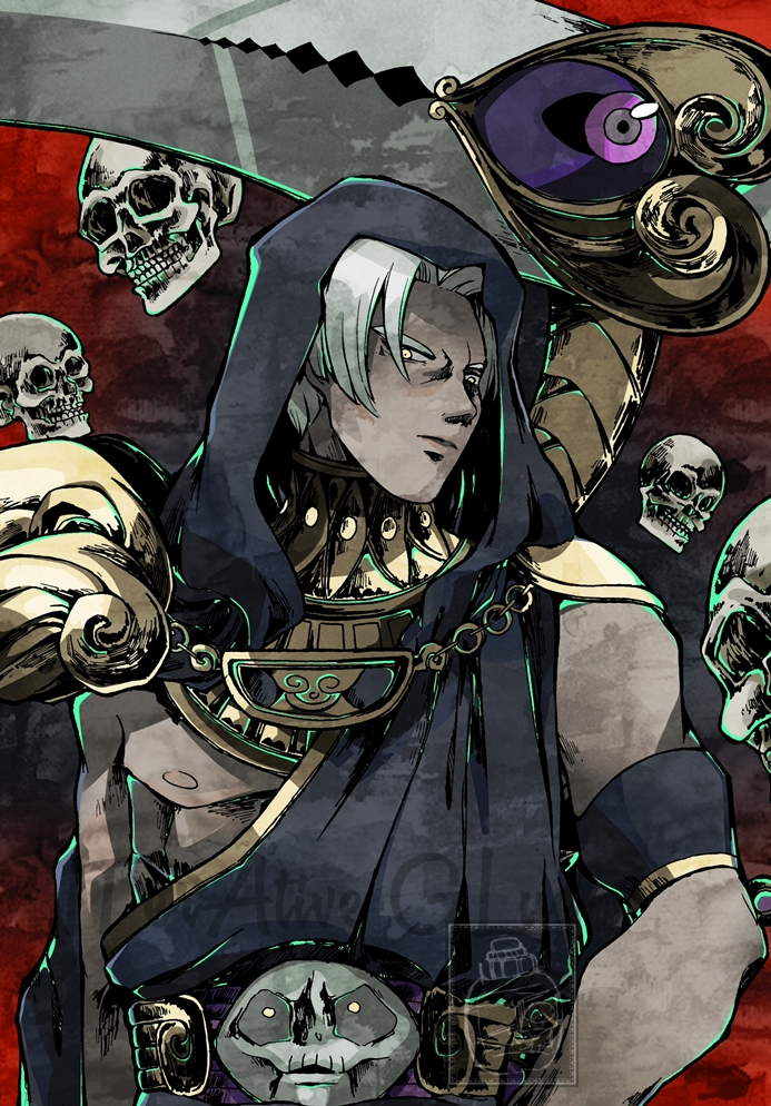 Thanatos - Hades (Supergiant Games) by ITerAtiveGLue on