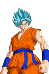 Goku Super saiyajin god super saiyajin