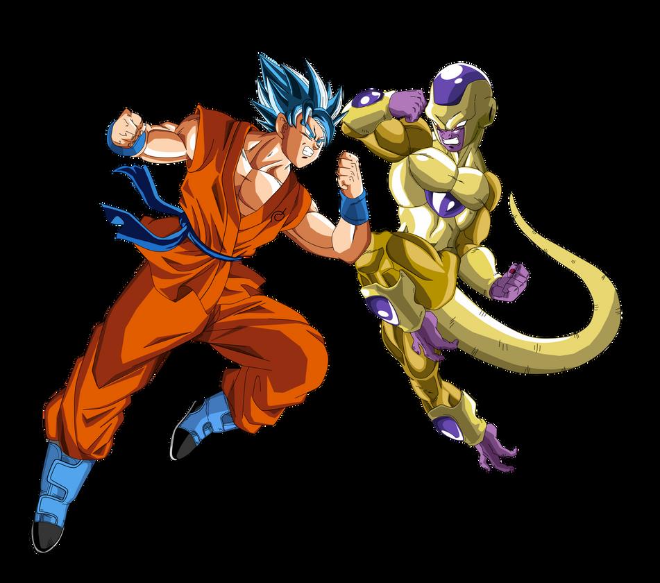 Goku Vs Golden Freezer By Naironkr On DeviantArt