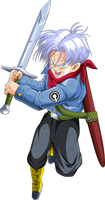 trunks del futuro dragon ball super by naironkr