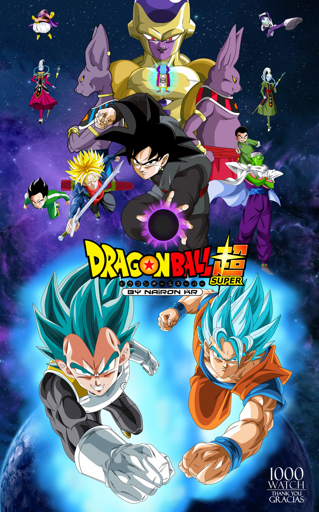 Dragon Ball Super Capitulos 01-67  BrRip 720p Español Latino