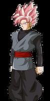black goku super saiyajin rose