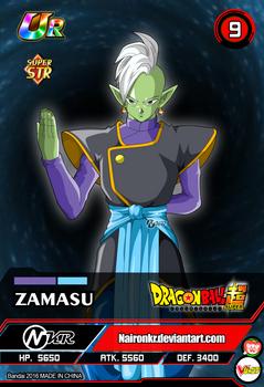 zamasu (cards dragon ball super z gt heros)