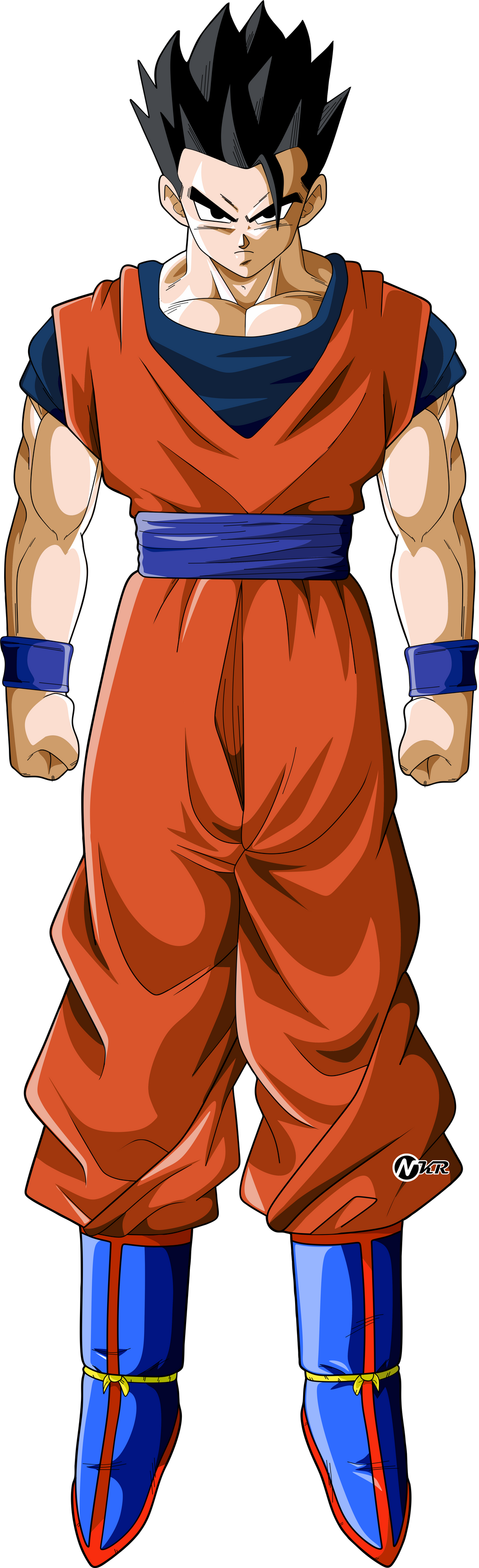 Dragon ball z coloring pages bardock - Dragon ball z gohan images ...