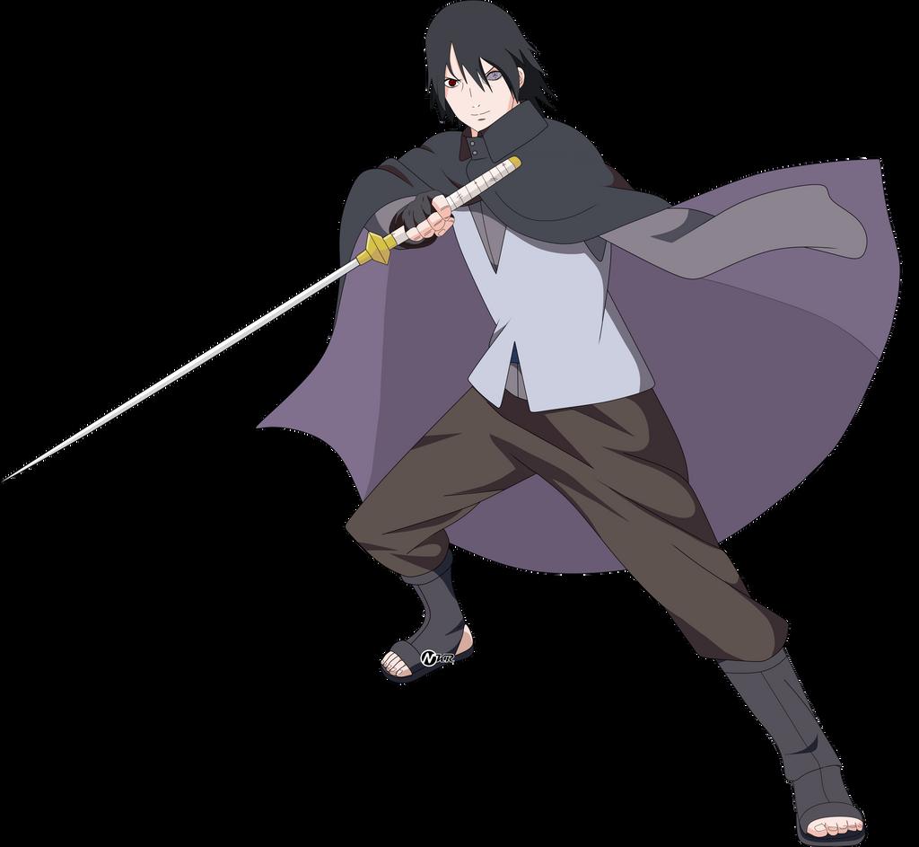 sasuke rinnegan by naironkr on deviantart