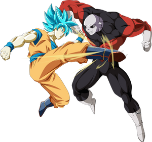 Goku ssj blue vs jiren universo 11