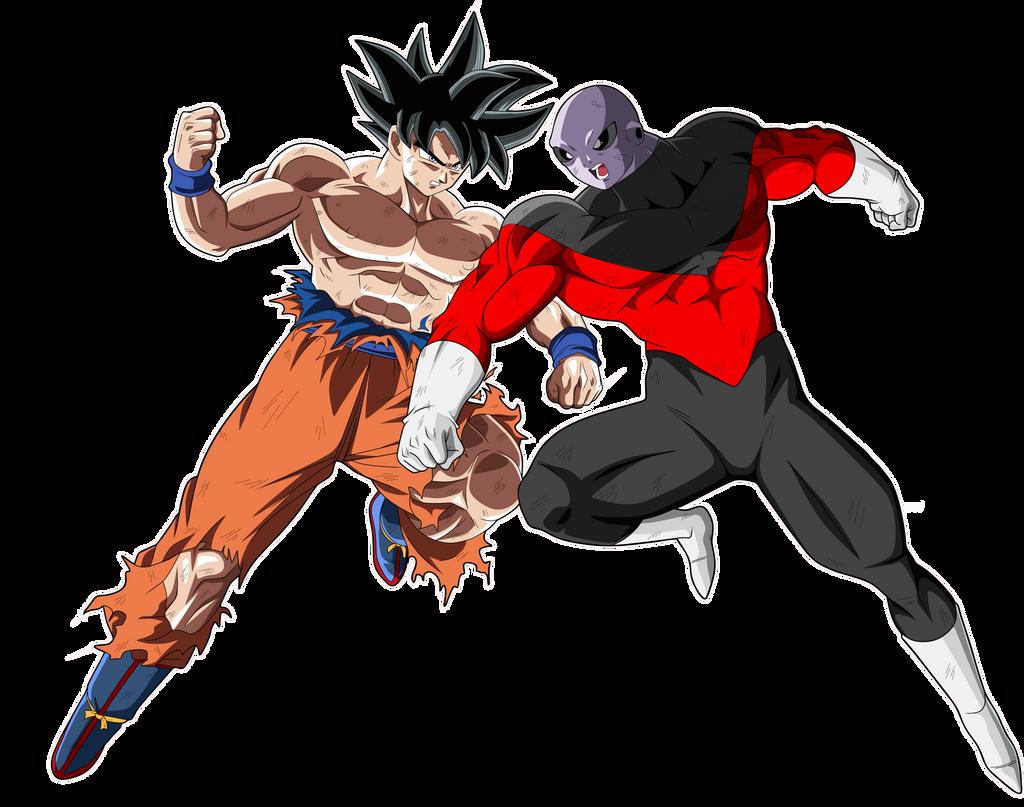Goku Vs Jiren by naironkr on DeviantArt