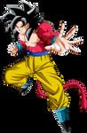 Goku Ssj4 By Naironkr On Deviantart
