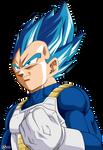 vegeta ssj blue full power render